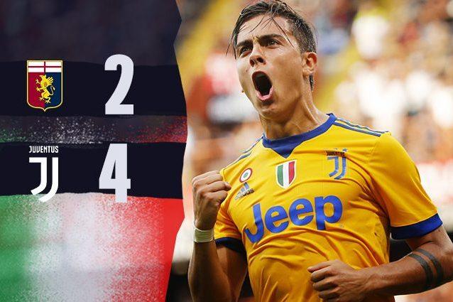 Gol, spettacolo, Var e un super Dybala: la Juventus rimonta e batte il Genoa