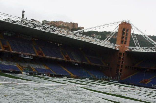 Serie A: Sampdoria-Roma, rinviata a causa del maltempo