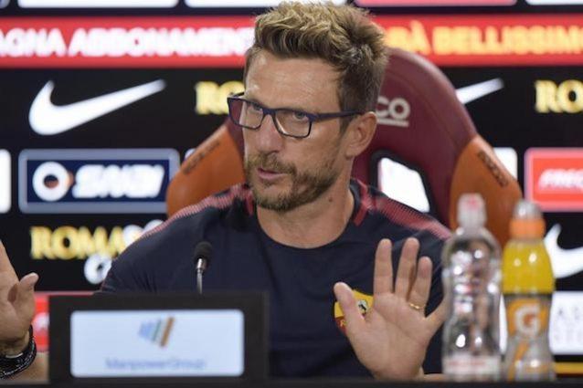 """Di Francesco: """"Schick salta Sampdoria-Roma per un problema muscolare"""""""