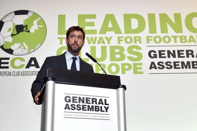 Andrea Agnelli neo presidente dell'ECA, Italia più forte nei palazzi del calcio