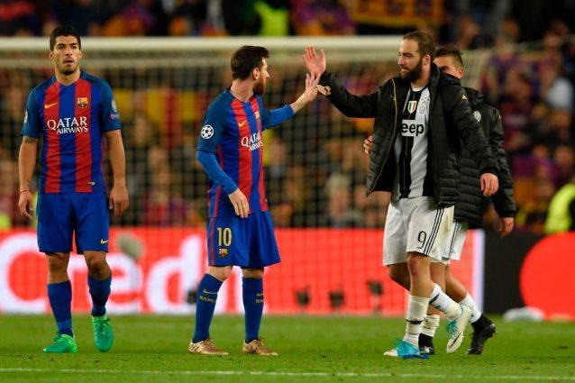 Champions 2017-18: da Messi a Higuain, i calciatori più preziosi della manifestazione