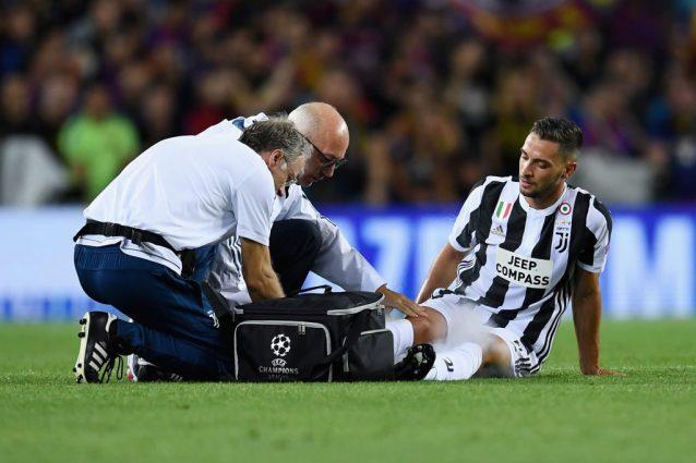 Infortunio De Sciglio, il report medico della Juventus