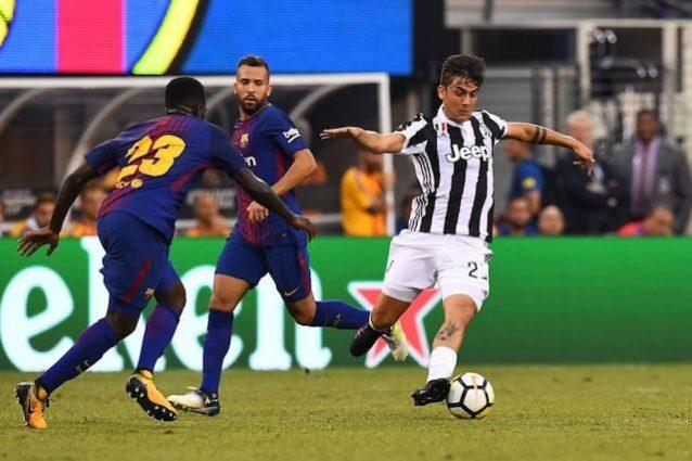 Barcellona - Juve, Messi contro Dybala. Stasera avversari, in futuro compagni di squadra ?