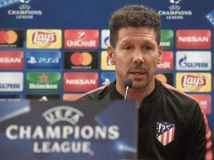 """Champions, per Simeone è un derby: """"Rispetto la Roma, ma voglio batterla"""""""