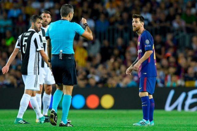 Ammoniti Pjanic e Messi
