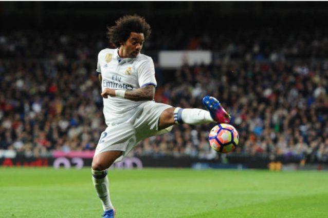 Real Madrid, infortunio e un mese di stop per Marcelo