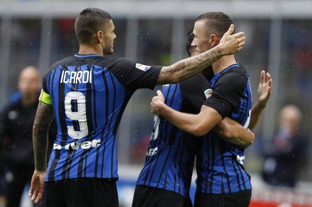 L'asse Perisic-Icardi fa volare l'Inter: sempre presenti in tutti i gol nerazzurri