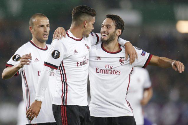 Difesa a tre, André Silva e Calhanoglu: Montella vince col nuovo Milan