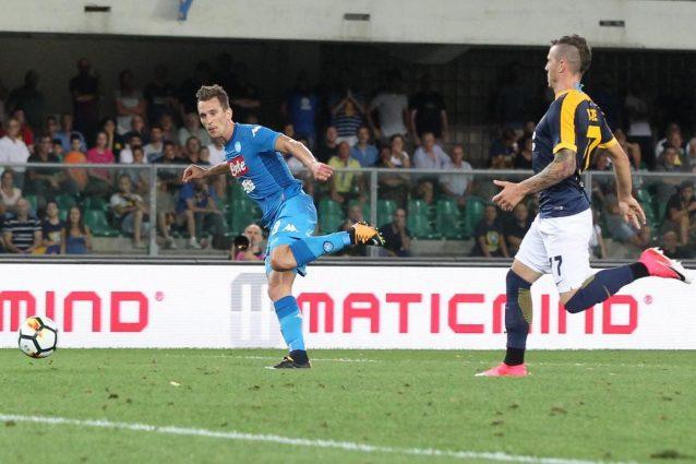 NazioNapoli: Hamsik e Chiriches ko. Milik titolare trova subito il gol