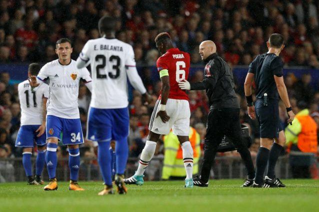 Manchester United, infortunio per Pogba: rischia un lungo stop