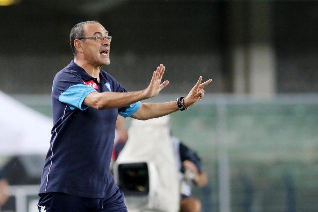 Napoli Sarri ha paura di volare lascia la squadra e raggiunge Bologna in treno