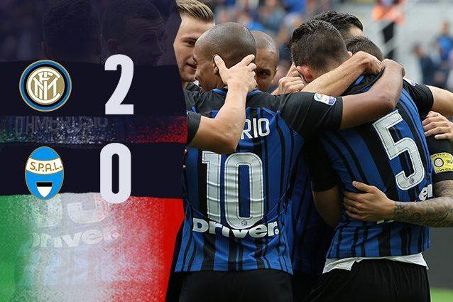Inter batte Spal 2-0