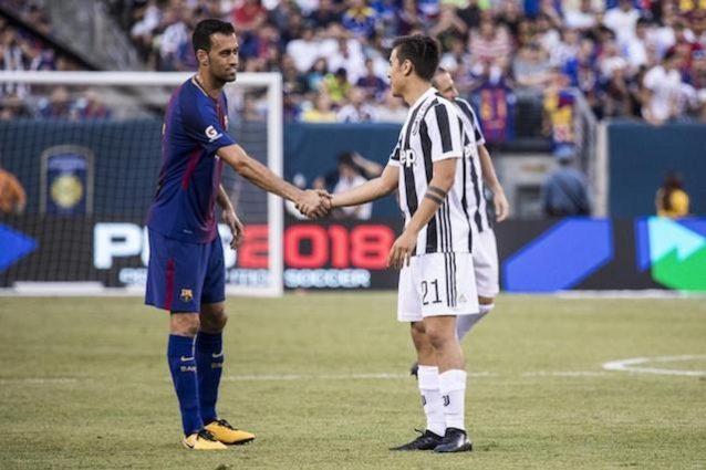 Precedenti e statistiche di Barcellona-Juve