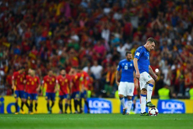 L'Italia di Ventura a scuola dalla Spagna: 3-0 e condanna ai play-off
