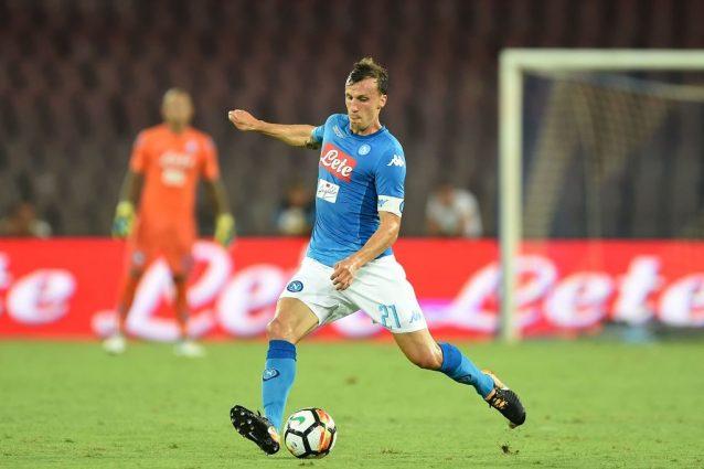 Napoli, i convocati di Sarri per la Champions: c'è Chiriches, fuori ancora Tonelli