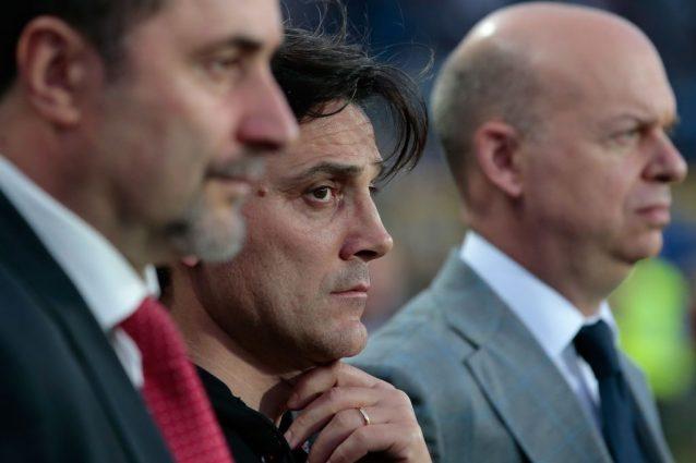 Crisi Milan, Montella a rapporto: derby e Champions gli obiettivi richiesti