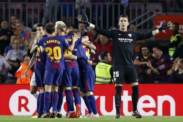 Liga: il Barcellona batte anche il Malaga, 8° successo per Valverde