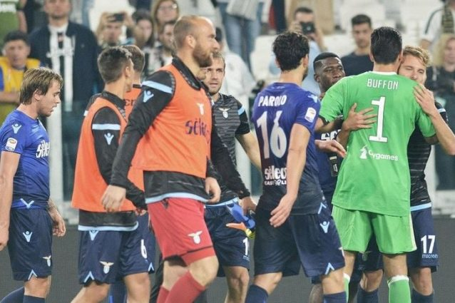Juventus, Buffon si arrabbia con Immobile: