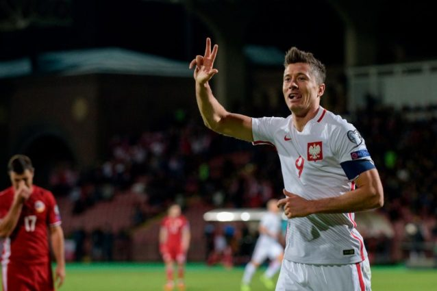 Qualificazioni Mondiali LIVE: la Polonia di Szczesny in vantaggio