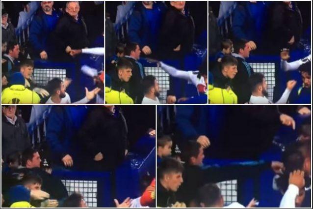 Tentata aggressione ai giocatori del Lione, l'Everton denuncia il responsabile