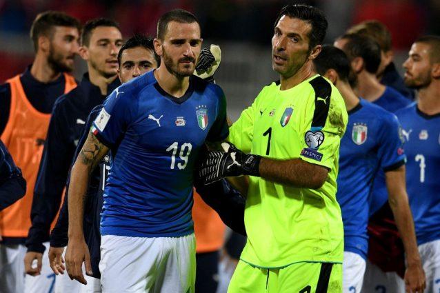 """Buffon: """"Contro la Svezia avremo il miglior Bonucci"""""""