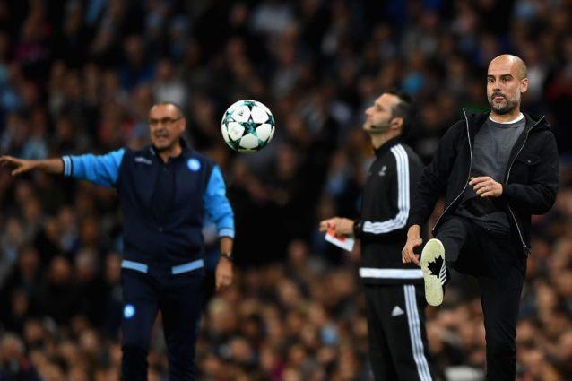 Messaggio di Guardiola a Sarri: contro lo Shakhtar giocheremo per vincere
