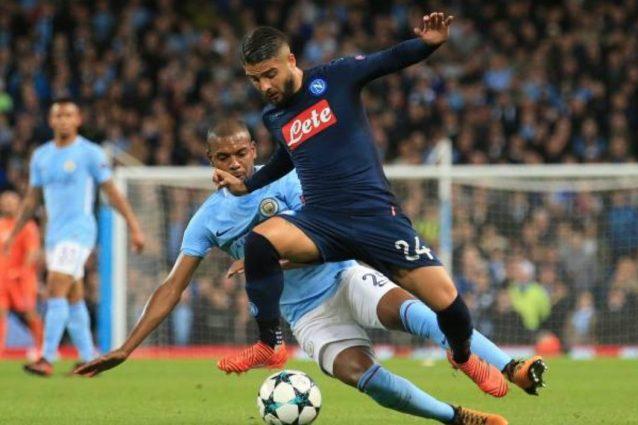 """Napoli, infortunio Insigne: dolore all'adduttore. Sarri: """"Fuori per precauzione"""""""