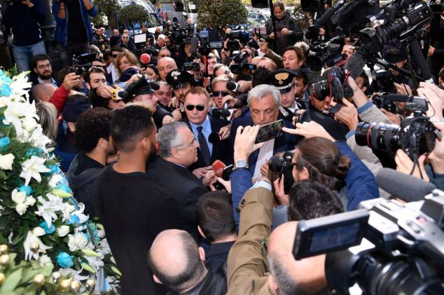 Lazio e Lotito: per la procura violato il codice di giustizia sportiva