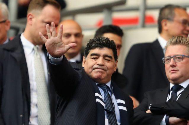 Maradona Jr: