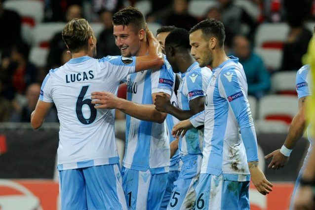Europa League 2017-18, Lazio-Nizza 1-0: gli highlights