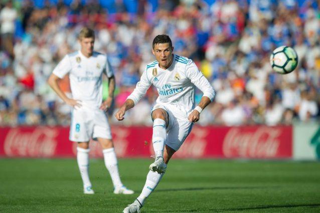 Liga, l'acuto di Ronaldo: il Real batte il Getafe 2-1 e vola al secondo posto
