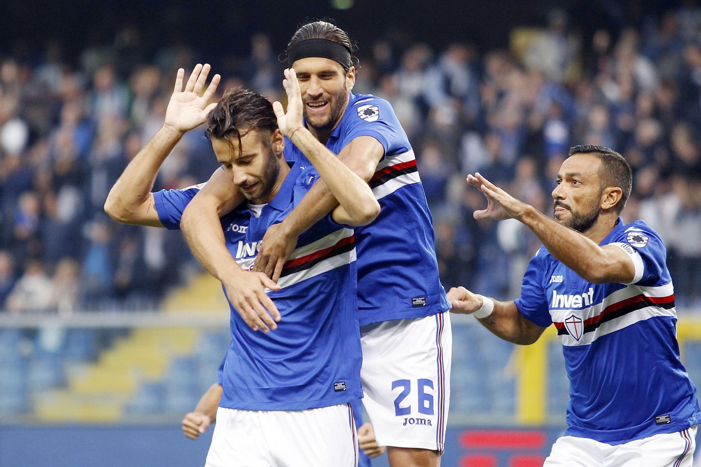 Allenamento calcio Sampdoria Uomo