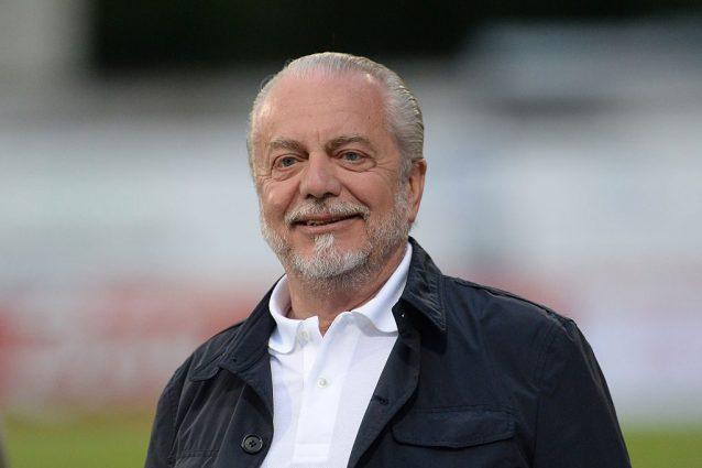 """De Laurentiis risponde ad Allegri: """"Il Napoli è bello e anche vincente. Sarri un fenomeno"""""""