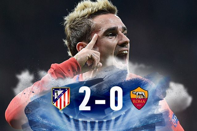 Atletico Madrid-Roma 2-0, Di Francesco: