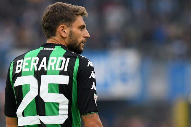 Napoli, Berardi si farà: bloccato l'attaccante del Sassuolo