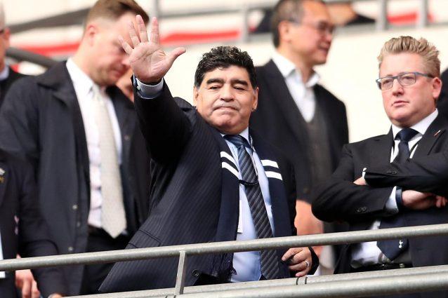 """L'amarezza di Maradona: """"E' triste vedere un Mondiale senza l'Italia"""""""