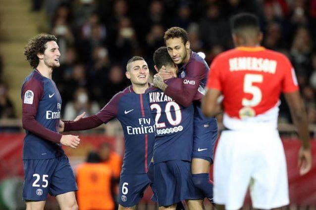 Ligue 1, Monaco-Psg 1-2: Cavani-Neymar, è fuga!