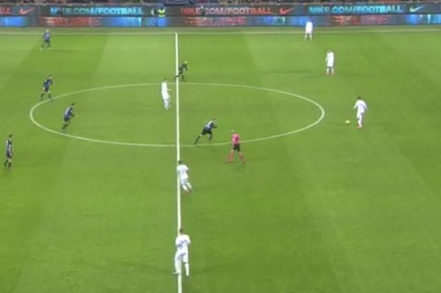 Inter-Atalanta, si parte