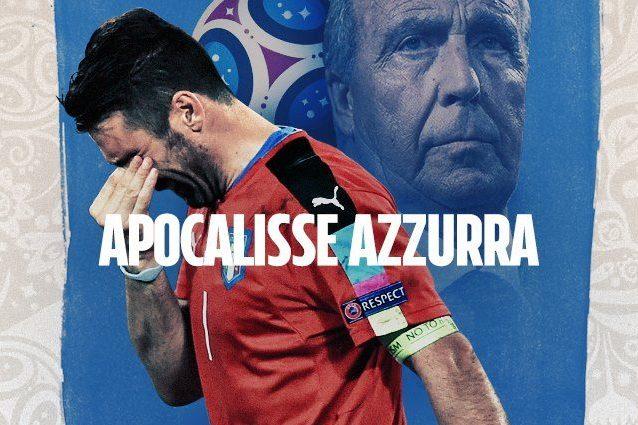 E' finita, l'Italia è fuori dai Mondiali