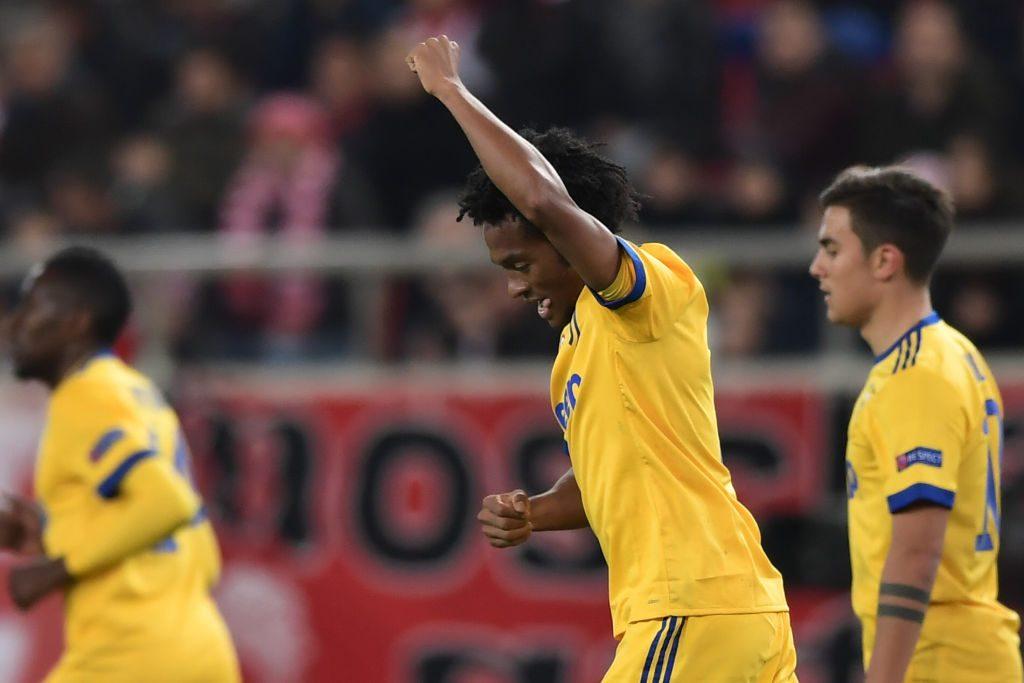 Champions League, Olympiacos-Juventus: risultato LIVE (0-2, Cuadrado 15', Bernardeschi 89')