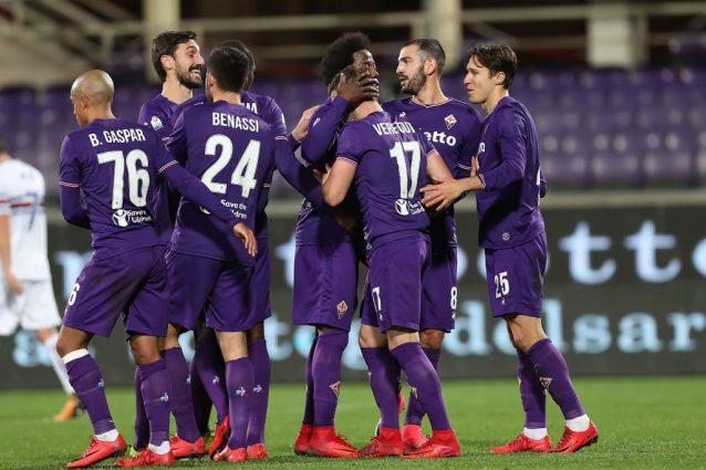 Pioli ringrazia il Var e Veretout: Samp ko e Fiorentina ai quarti di Coppa Italia