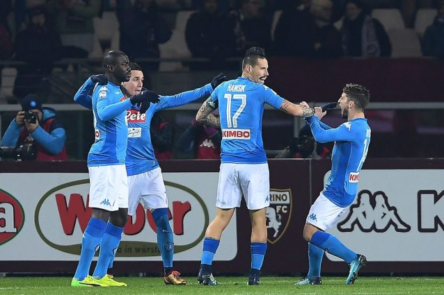 Hamsik fa 115 gol, come Maradona; Napoli di nuovo primo in classifica