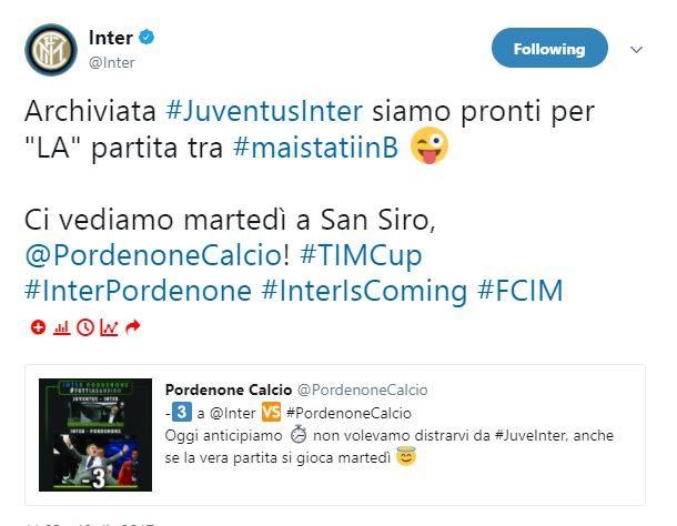 Pordenone, maglia celebrativa per la partita con l'Inter: l'annuncio ufficiale