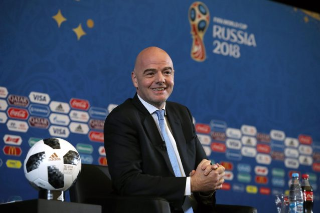 Mondiale 2018, Infantino: