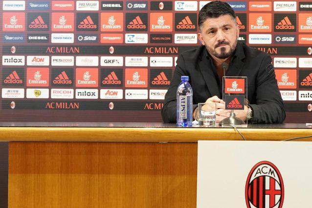 Difesa a 3 e Bonucci leader, così riparte il Milan di Gattuso