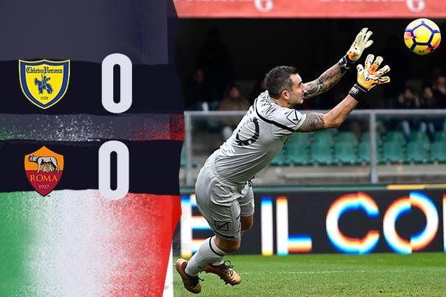 """Chievo-Roma 0-0, Di Francesco non sfonda al Bentegodi"""""""