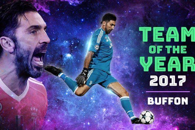 Top 11, Buffon e Chiellini nel Team Uefa 2017
