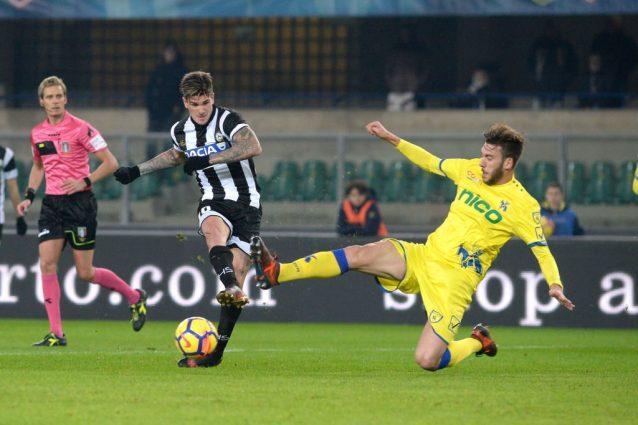 Chievo-Udinese, le formazioni ufficiali: out Inglese, c'è Pucciarelli