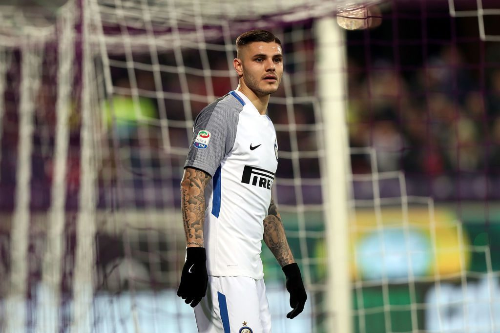 Inter, infortunio per Icardi: c'è un rischio