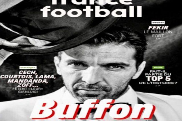 Buffon e i suoi 40 anni France Football dedica la copertina alla leggenda bianconera
